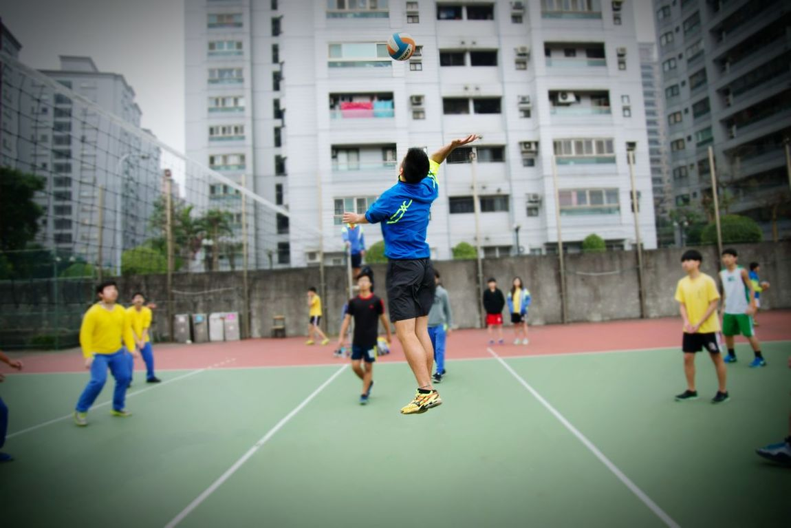 School Life  Young People Photography Sports Photography Wuling Athlete Excercise Excercise Time Eyeemsports Sport Jump Volleyball