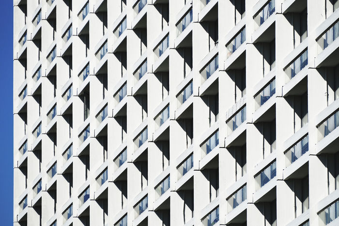 Aa Abstract Architectural Feature Architecture Brutalism Building Built Structure City Denmark Design Detail Directly Below Geometric Shape In A Row Low Angle View Modern No People Outdoors Part Of Pattern Pattern Pieces Repetition Shape Tall - High The City Light