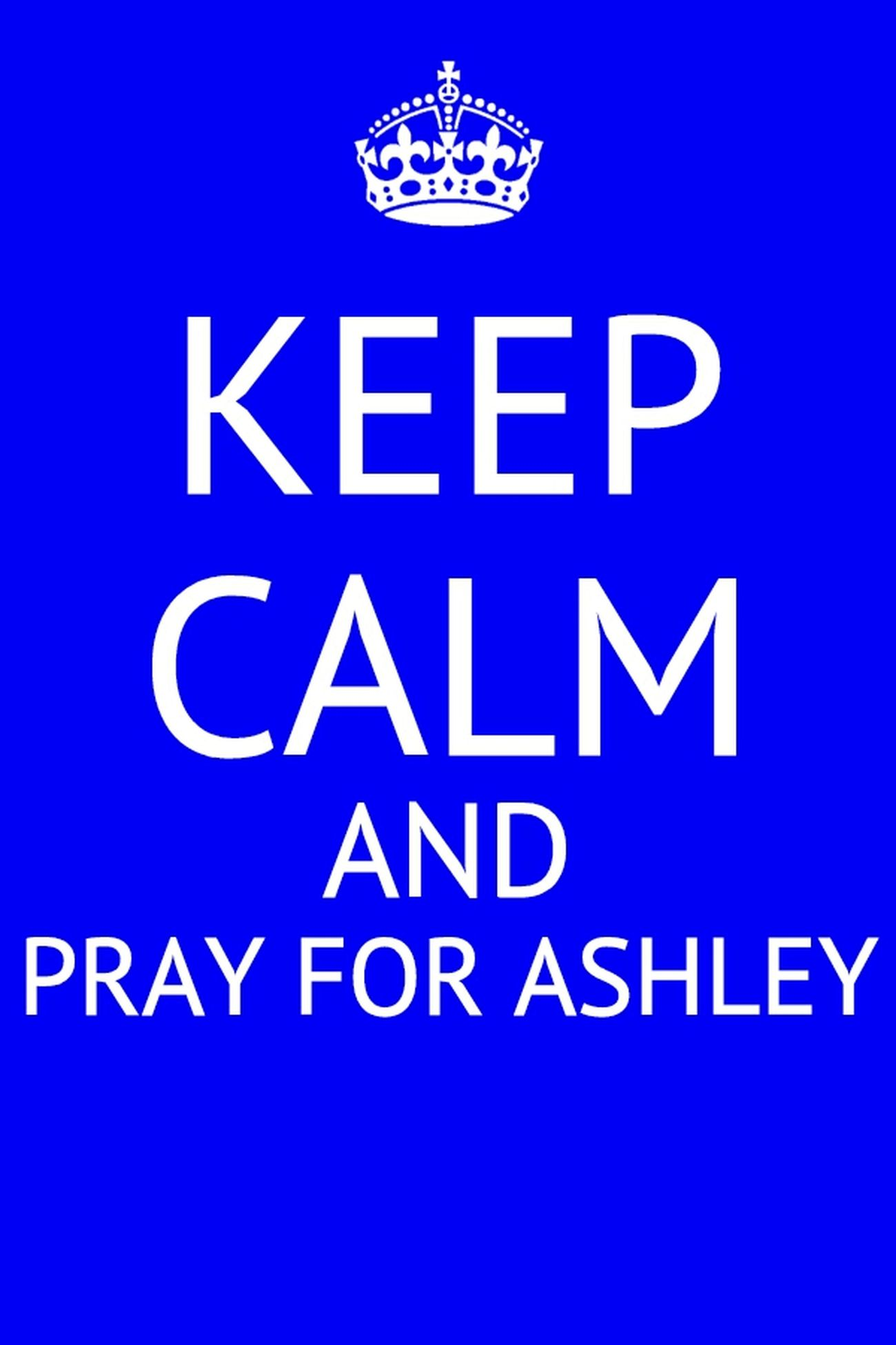 Pray For Ashley