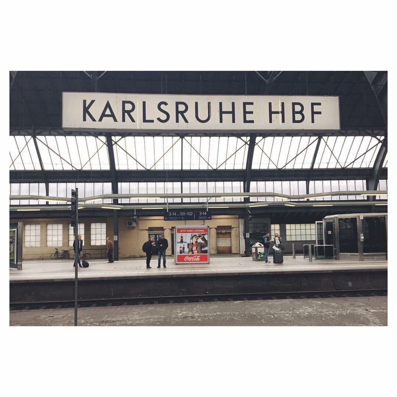 The Journey Is The Destination Karlsruhe Germany Travel Travel Photography Wanderlust Train Trainstation