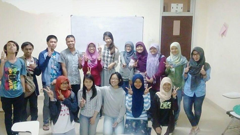 Together 一緒になる Diponegoro University Photo Session Cultural Exchange Japanese  Memorizing ー Dec. 2015