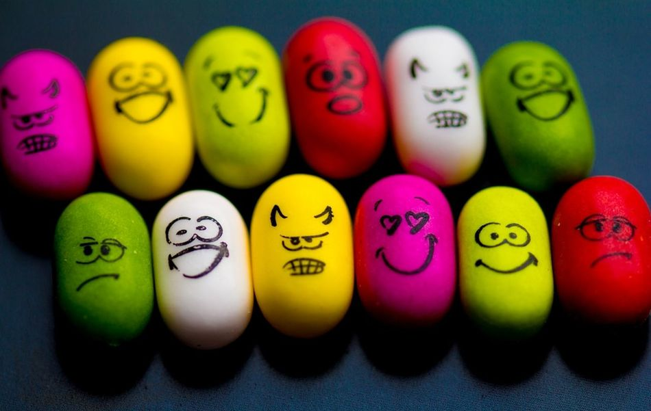 Colorful Emotions Multi Colored No People Emotion Sad Angry Amorous Awesome Happy Yellow Red White Green Applegreen EyeEm Best Shots the new Tictac Yummy Smiley Face