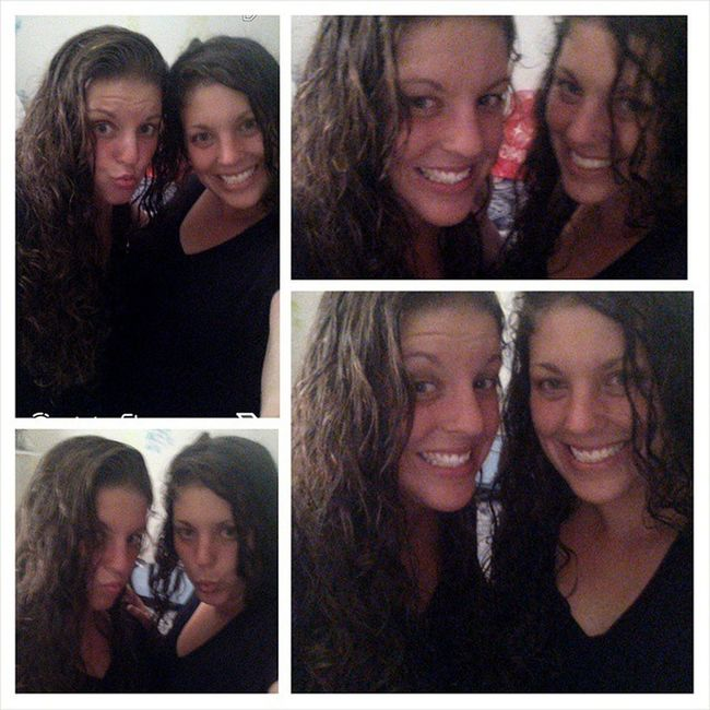 Spent an hour outside in pouring rain at FUBAR after work haha ??? Funny Stillgorgeoud Soaked Rain curlyhairgoodtimes