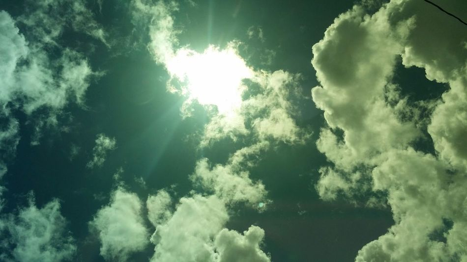 Through My Sunglasses From My Point Of View Clouds And Sky Taking Photos Puerto Rico No Edit/no Filter Sunshine
