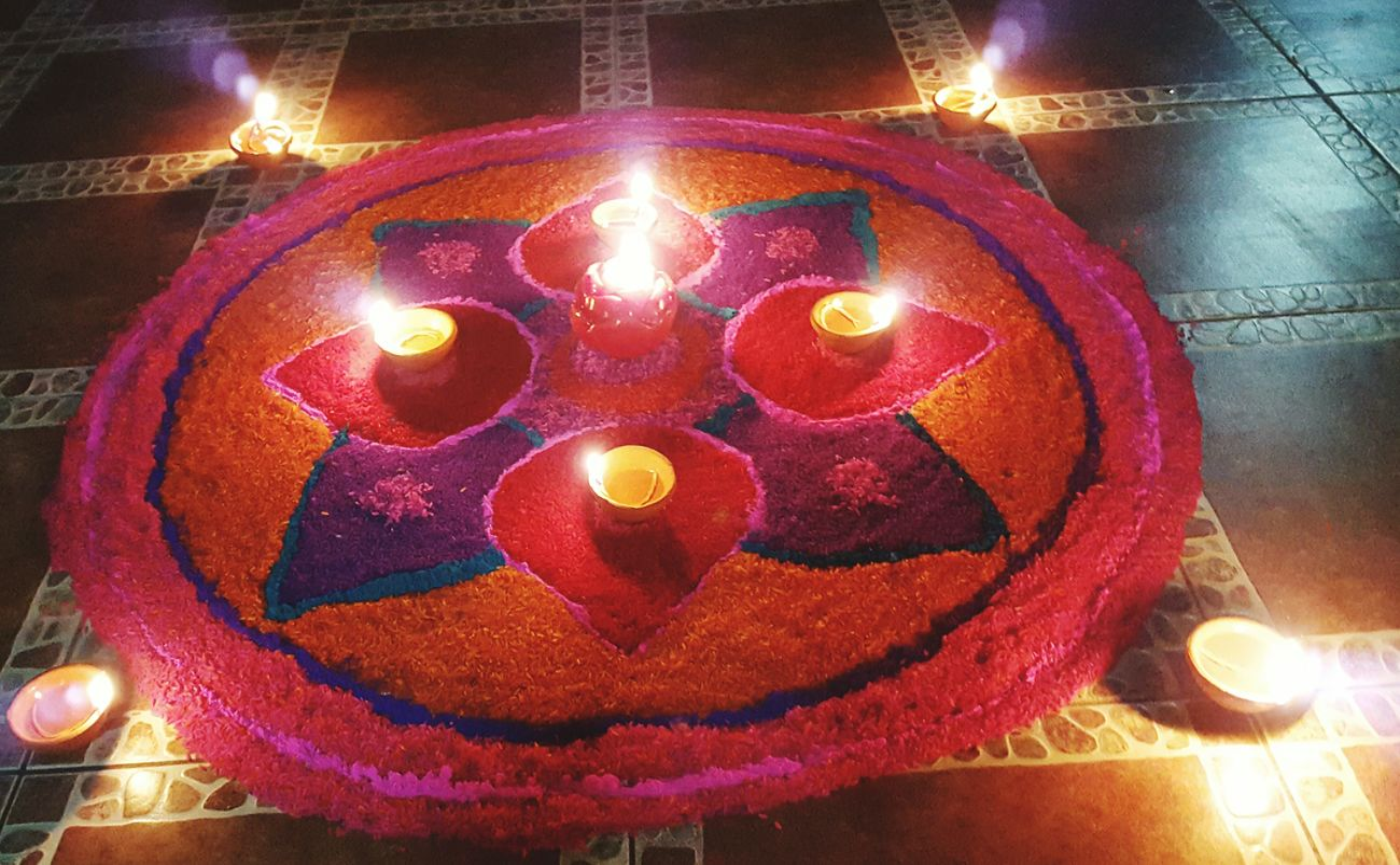 Rangolibyme Rangoli Colorful Rangoli. Diwali Celebration Rangoli