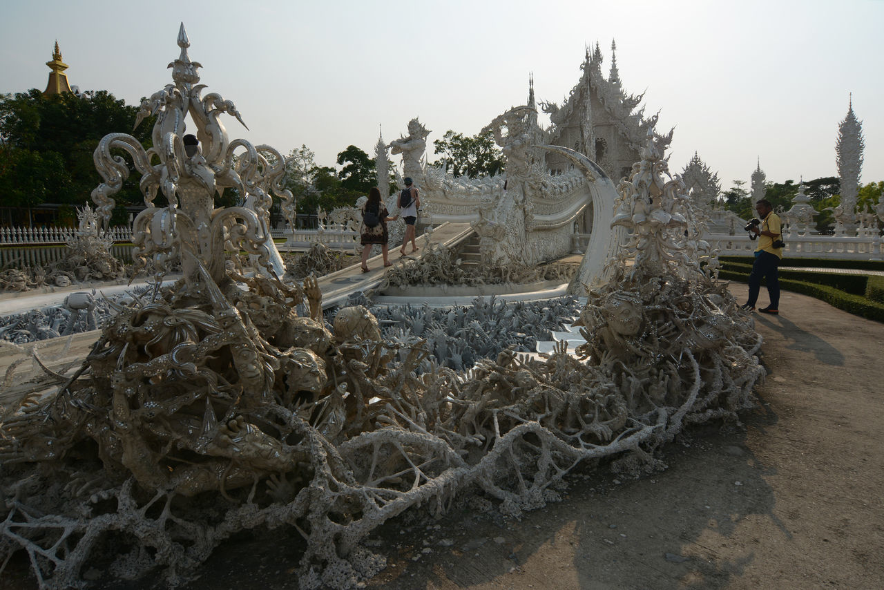 white tample chiang rai,thailand Abstract Architecture ArtWork Buddhism Budha Temple Chiang Mai | Thailand Outdoors Photography Relegion TAM Tradition Traveling White White Color
