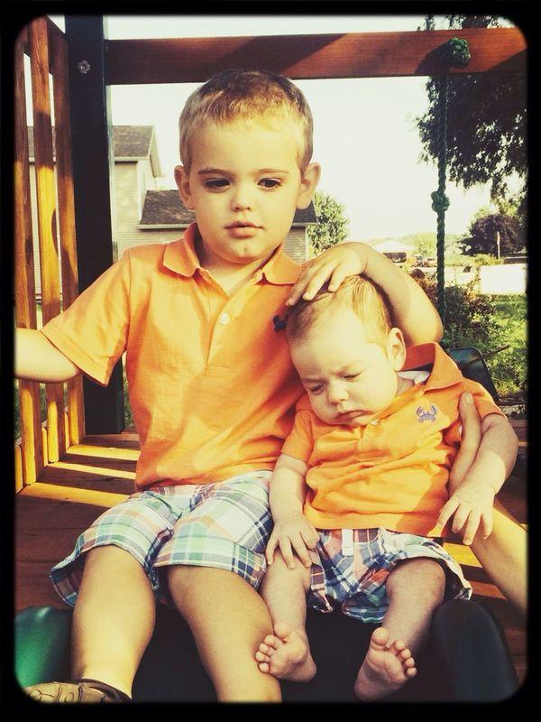My beautiful boys<3