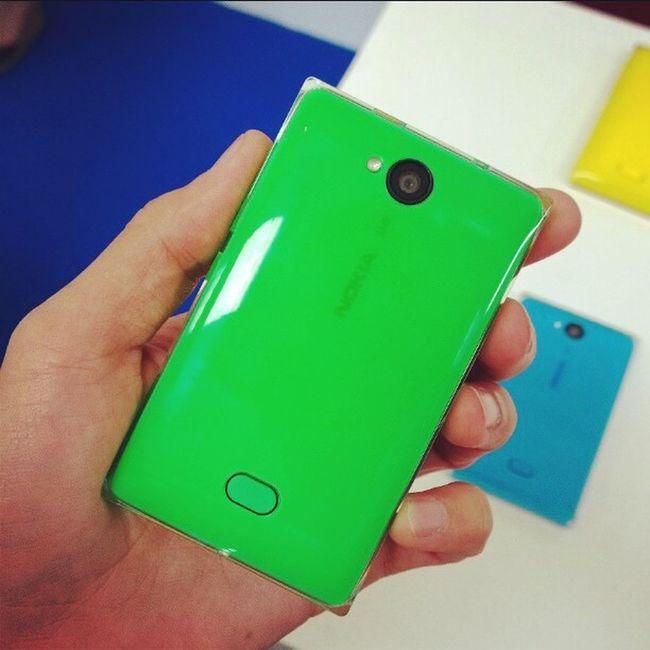 Зеленая Nokia  Asha503 особенно хороша! Nokiaworld Nokiaworldkz
