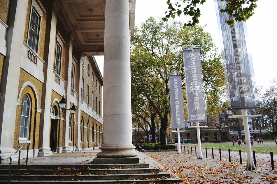 Tree Architectural Column Architecture Built Structure Building Exterior City Outdoors No People Day Saatchi Gallery Art