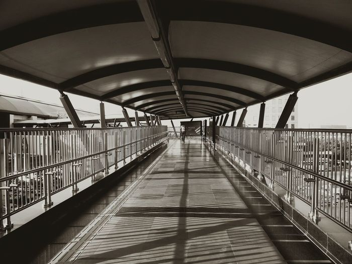 The Way Forward Bridge - Man Made Structure Day Built Structure Indoors  Footbridge Architecture Adult People City Adults Only Architecture Rapid Metro Gurgaon Gurgaondiaries