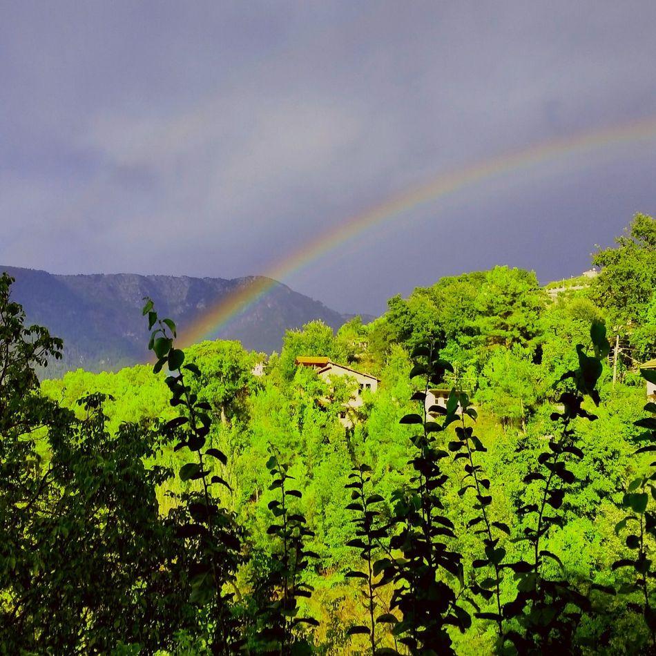 Rainbow Hello World Nature Turkey