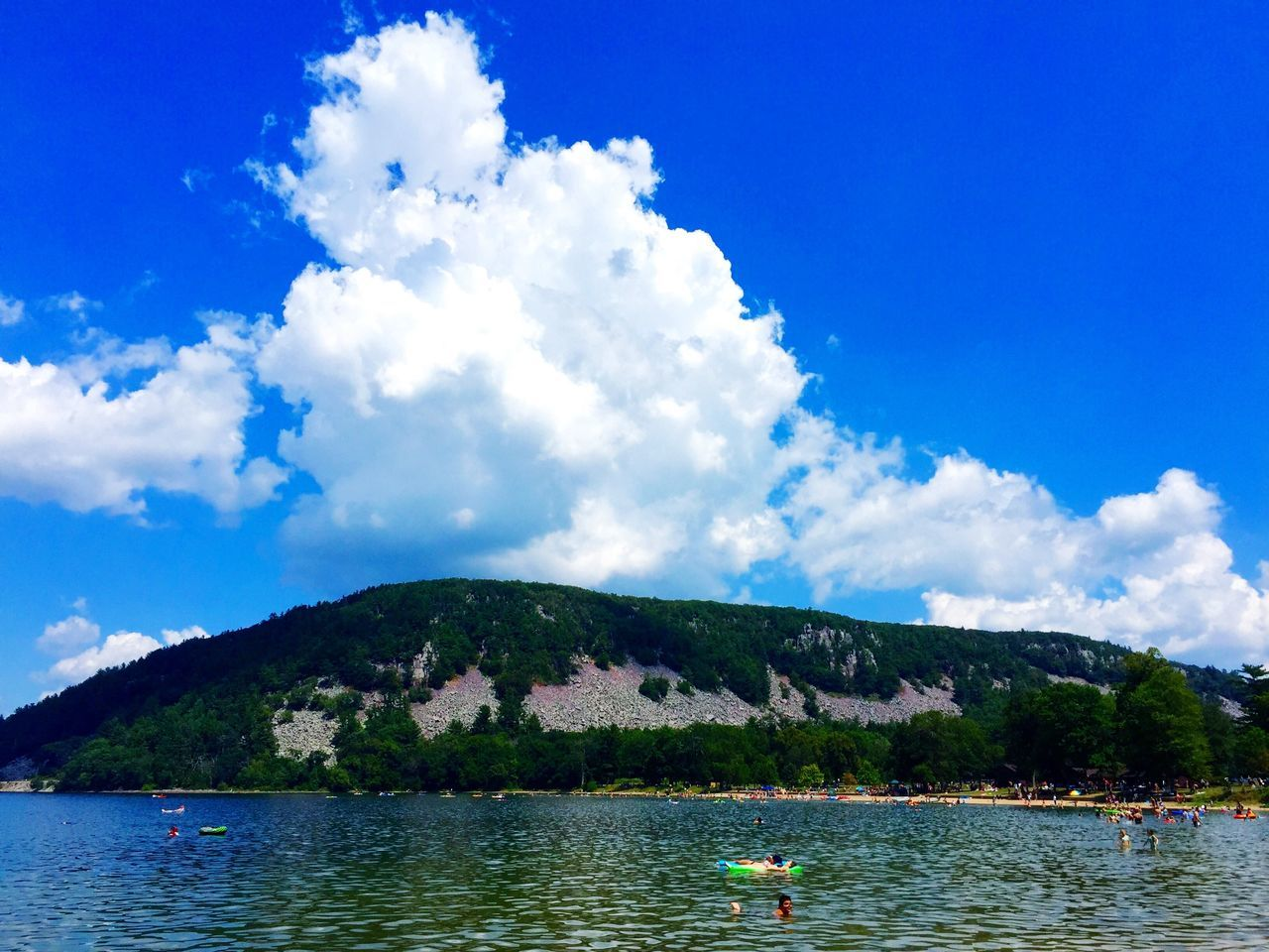 Beauty In Nature Blue Cloud Cloud - Sky Cloudy Day Idyllic Lake Landscape Mountain Mountain Range Nature Non Urban Scene Non-urban Scene Outdoors Remote Rippled Scenics Sky Tourism Tranquil Scene Tranquility Travel Destinations Vacations Water