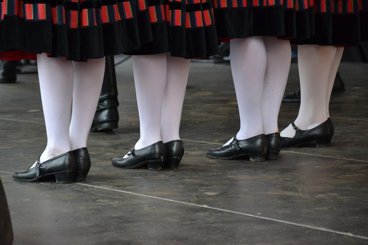 Dance Dancers Female Dancers Folk Dance Footwear Hungarian Low Section Person White Stockings