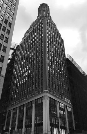 New York New York Architecture Building Exterior Built Structure Low Angle View Modern Skyscraper Tower City