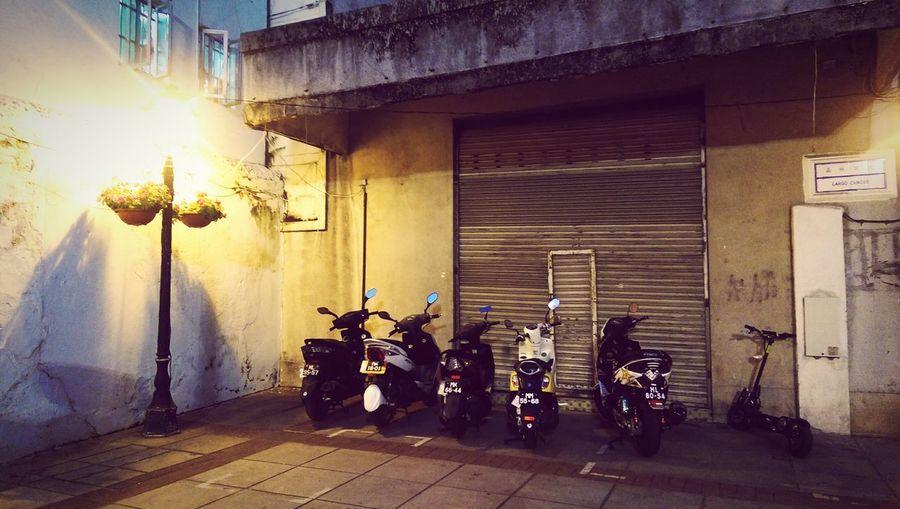 Macau Old Taipa Mopeds Street Photography Streetphotography Streetscape