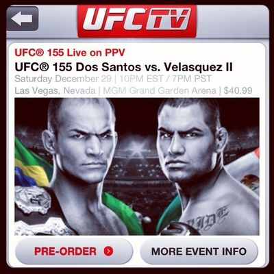 UFC in Fortaleza by Bruno Correia