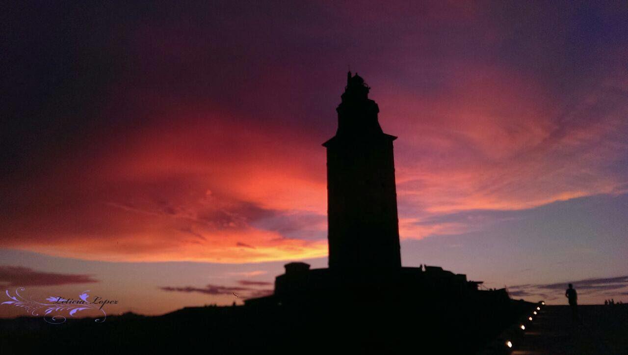 Beauty In Nature Cloud - Sky Coruña España Faro De Hercules Tourism Travel Photography