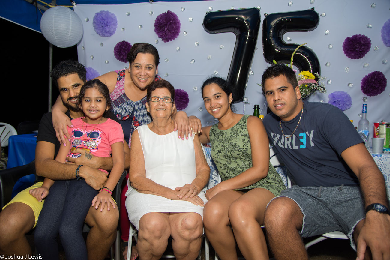 Real People Love Beautiful Trinidad And Tobago Caribbean Laughing Stillife Beautiful People Birthdayparty Looking At Camera Casual Clothing Smiling Granny Togetherness Mid Adult Family Time Mature Adult