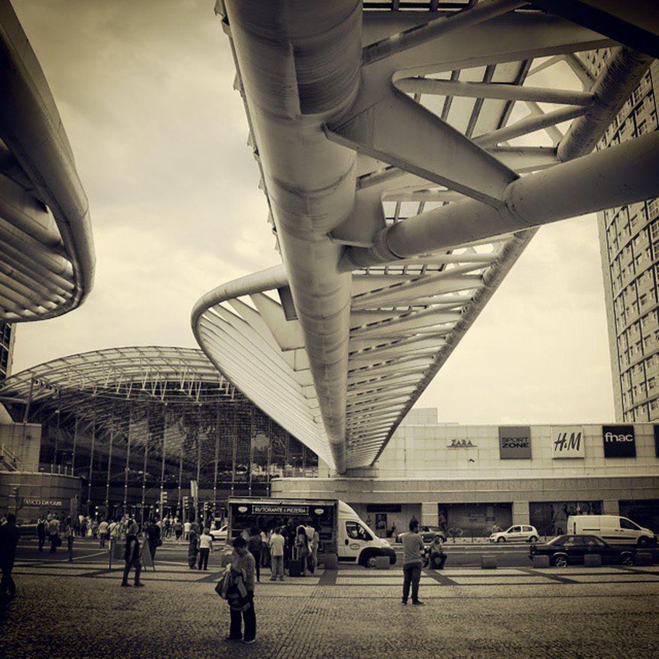 Gare do Oriente Lisbon Lisboa Garedooriente Calatrava