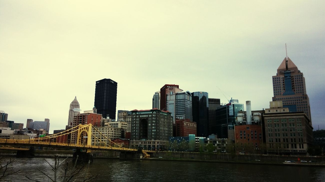 Colors Of Pittsburgh, Downtown Pittsburgh Downtown Pittsburgh Three Rivers