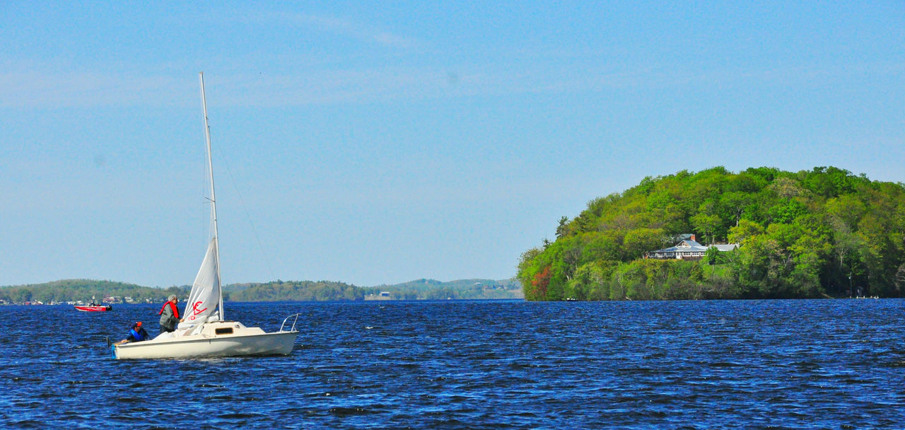 sailing to nature Blue Blue And Green Blue Wave Boating Boats⛵️ Color Colors Freedom Lake Lakeside Leisure Leisure Time Nature Nautical Vessel Open Outdoors Outside Leisure People Sailboat Sailing Tranquil Scene Tranquility Water Waterfront Yachting