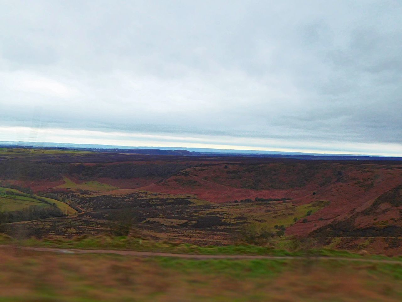 The hole of horcum..a 400ft deep valley & part of 554 sq miles of the north yorkshire moors national park (untouched land) just nature at its best 💖 Drivebyphotography Landscape Nature Scenics Outdoors Beauty In Nature Sky Tranquility Agriculture Cloud - Sky Rural Scene No People Tranquil Scene Growth Day