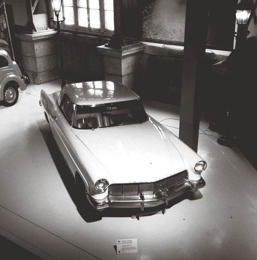 Classic Cars Brussels Museum IPhoneography Shades Of Grey