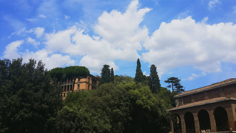 Architecture Trees Green Color Cloudy No People Cloud Built Structure Lifestyles Rome Italy Life In City Beautiful Rome Traveling EyeEmNewHere