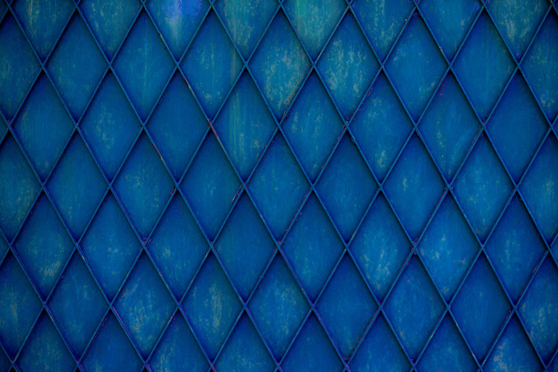 Abstract Architecture Backgrounds Blue Blue Background Built Structure Close-up Construction Day Fence Full Frame Industrial Industry Metal Gates No People Outdoors Pattern Seamless Pattern Textured  Urban