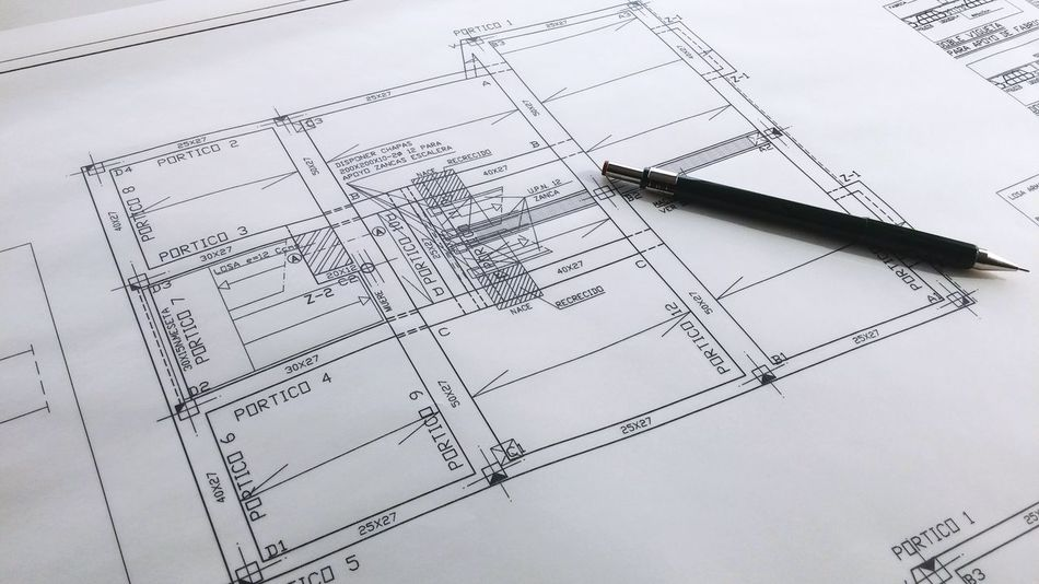 Beautiful stock photos of zeichnungen, Accuracy, Architectural Feature, Blueprint, Communication