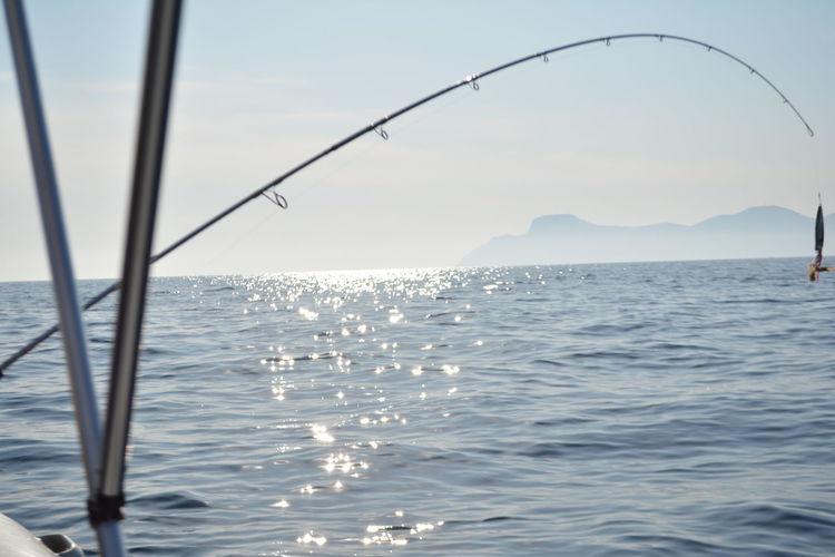Balearic Island Seaç Fishing In Balearic Island People Rod And Fis Sea Of Mallor Sfising In Mallor Summer In Mallorca 2015 Sunset