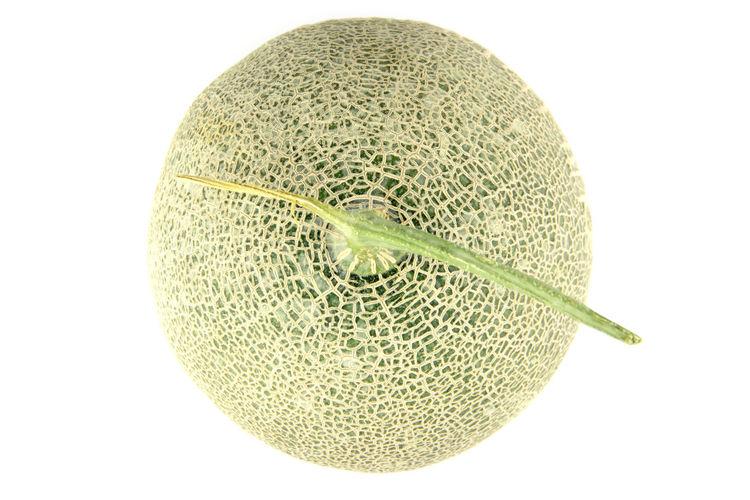 Freshness Green Japan Textured  Background Close Up Close-up Fruit Melon No People Object Studio Shot Sweet White Background White Isolated