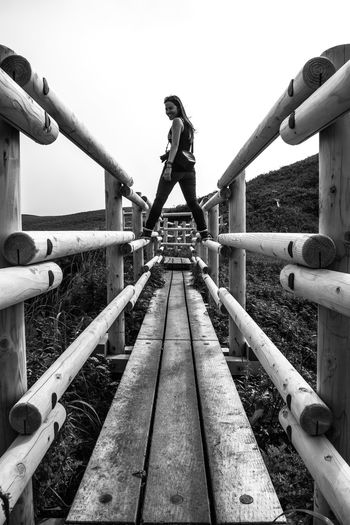 Upload 3000!! Lightning visit Hiking is the thing to do on Rebun Island. The island is steeped in history and nature. We went higher and higher. The temperature dropped as clouds drifted in. This would have to be a lightning visit. Copy Space Hiking Japan Path Perspective Rebun Island Woman Black And White Clear Sky Day Full Length Girl Island Jungle Gym One Person Outdoor Play Equipment Outdoors People Photography Real People Sky Connected By Travel Be. Ready.