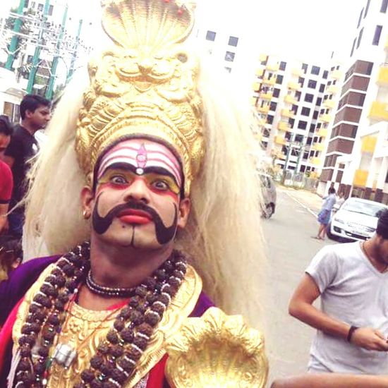 GanpatiBappaMorya Drama Shot  Street Happiness About Life Live Love Life Entertainment Enjoying The Moment Vibrant Color Close-up Enjoyment Large Group Of People Men Magic Begins From Here Love Without Boundaries GOD BLESS All Human Beings Enjoy
