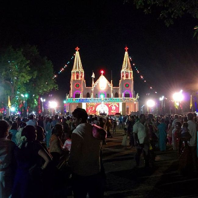 Feast of Sacred Heart cathedral Church @ Thanjavur Thanjai Thanjavur Tanjore Sacredheart Church Churches Cathedral Churchesofthanjavur Cathedrale Churchesoftheworld Sacredheartchurch Sacredheartofjesus