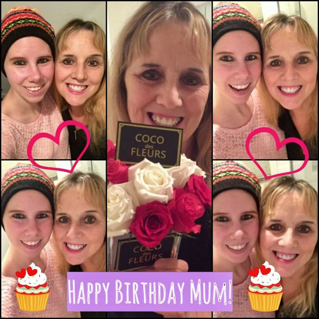 🎂Happy Birthday Mum 🎂 🍾💖🎉By Lisa Elizabeth DeVisser🎉💖🍾 Here's a Big Happy Birthday message to my beautiful Mum, Lynne..... Mum I just wanna wish you a big awesome Happy Birthday and I hope everything good come's your way! I've seen you blossom into a beautiful flower, going through the worst and bringing all the best into power. Your loveable kooky personality, make's everyone laugh and smile. Your not afraid to tell people how it is, And you give such love to your kid's and Grand kid's..... When your Happy, you sing to song's. When your in sorrow you dance to song's. Music is your vibe, and it make's you feel alive..... Your alway's there when I need you most, making me laugh and smile, and we have a toast. Your alway's there to pick me up, and you alway's worry when I am stuck. We sometime's grind each other's gear's, and make up after awhile and wipe away our tear's..... We have good convo's, and have cup's of tea's. You sit at the table, and play around with your photography. Your alway's showing me your photo's, and it's like a competition of who took the best photo's lol..... I'm the luckiest person in the world to have a fun loving beautiful mother. Your alway's there cheering me up, and I alway's cheer you up too. Your my best friend in the whole entire world, and this is my Big Happy Birthday message to you! Happy Birthday Mum! I hope today is filled with love and all your wishes coming true! Your the best mum in the whole entire world and I love ya heap's too! Hope you get spoilt rotten, and your a gorgeous woman too!!! Oxoxoxo LOVE YOU!!! ✨🌹🌹🌹🌹🌹✨ 🌹✨✨🎀✨✨🌹 🌹🌟🎁🙆🎁🌟🌹 🌹🌟🎁💎🎁🌟🌹 🌹🌟🎁💖🎁🌟🌹 🌹Happy birthday🌹 ✨🌹🌹🌹🌹🌹✨ 💖💙#Happybirthdaymum #Loveyou 💜💖