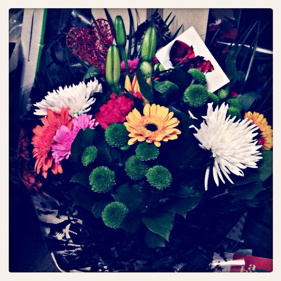 Valentines flowers for the misses Valentine's Day  Detailsofmylife Relaxing