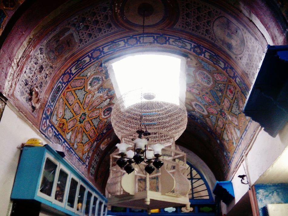 Plafond d'un café à la Medina de Tunis Eyeemtunisie Eyeemtunisia EyeemMedina