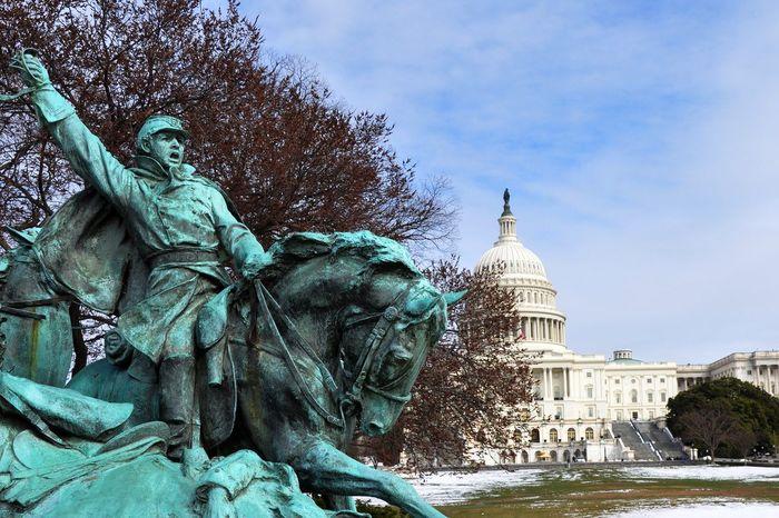 DC Capitol Building Architecture Capitol Building Capitol Building, DC DC Dome Horse Statue US Capitol Building Washington, D. C. WashingtonDC