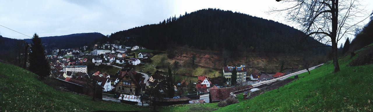 Panorama Tal Mountain Hill Badliebenzell Germany Schwarzwald Dorf Village Idyllic Outdoors Walking Photography Photo Nature Grass Day Frühling Spring Springtime