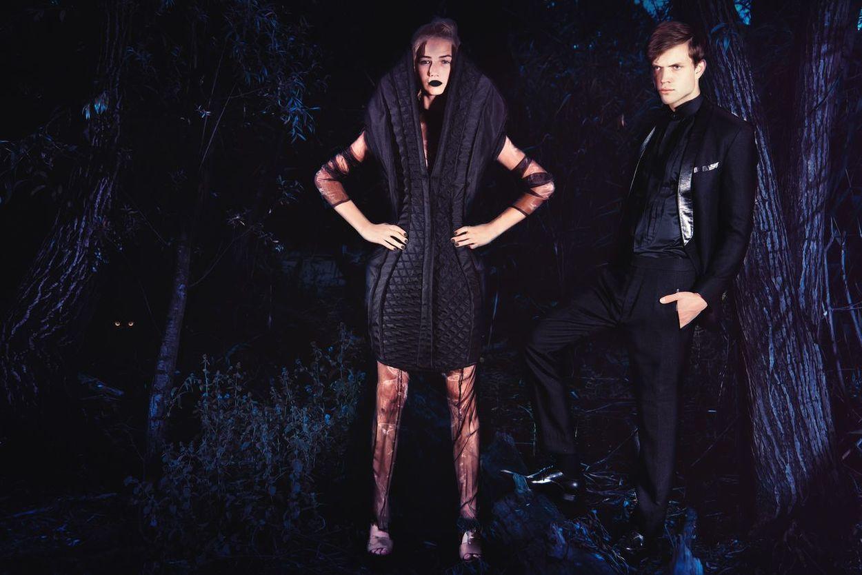 Editorial Blue Night Models Fashion Dreaming Fashion Photography Vogue