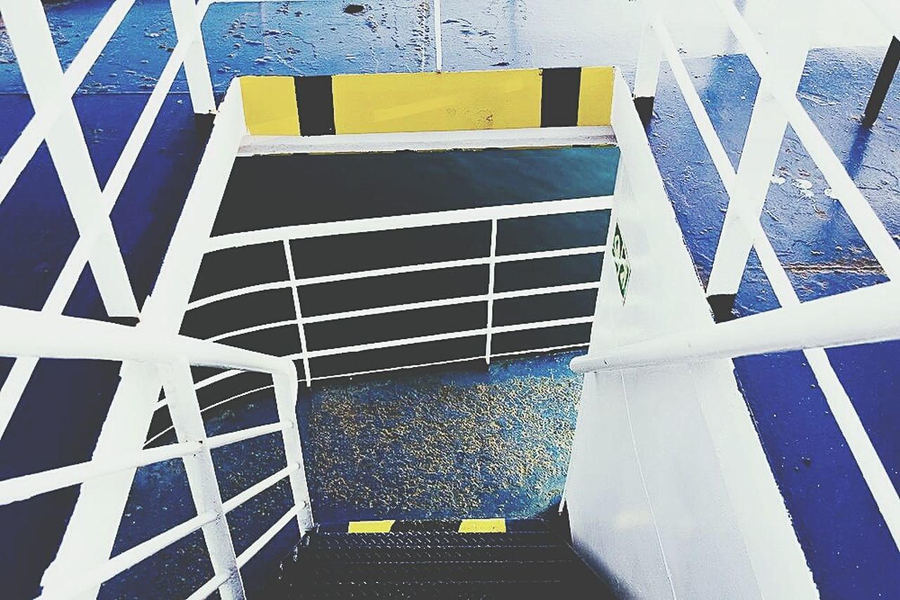 Abstract blue. No People Day Patriotism Outdoors Close-up Architecture Ferry transportation Blue colour