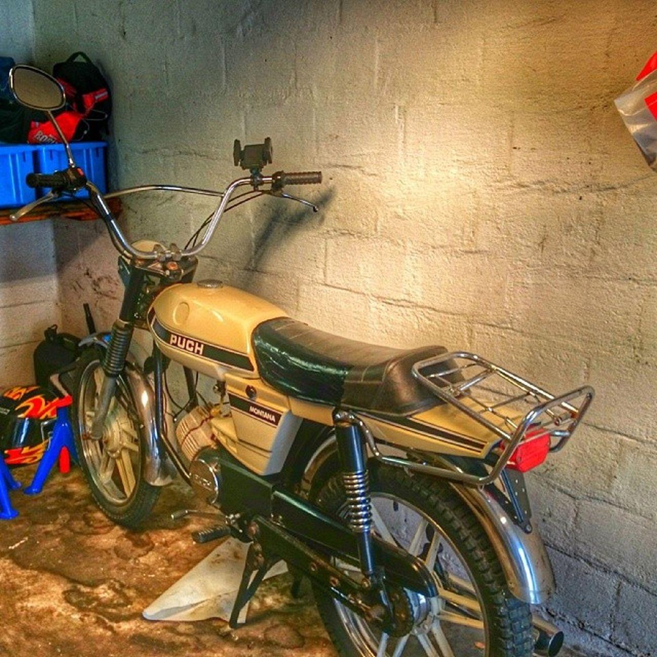 Puch Montana Moppe Moped 50cc nostalgi halmstad halland sverige sweden
