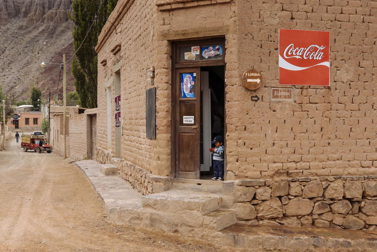 Adobe Bricks Andes Argentina Cordillera De Los Andes Jujuy Province Mountains Purmamarca Quiet Place  Road Tourism Town Village