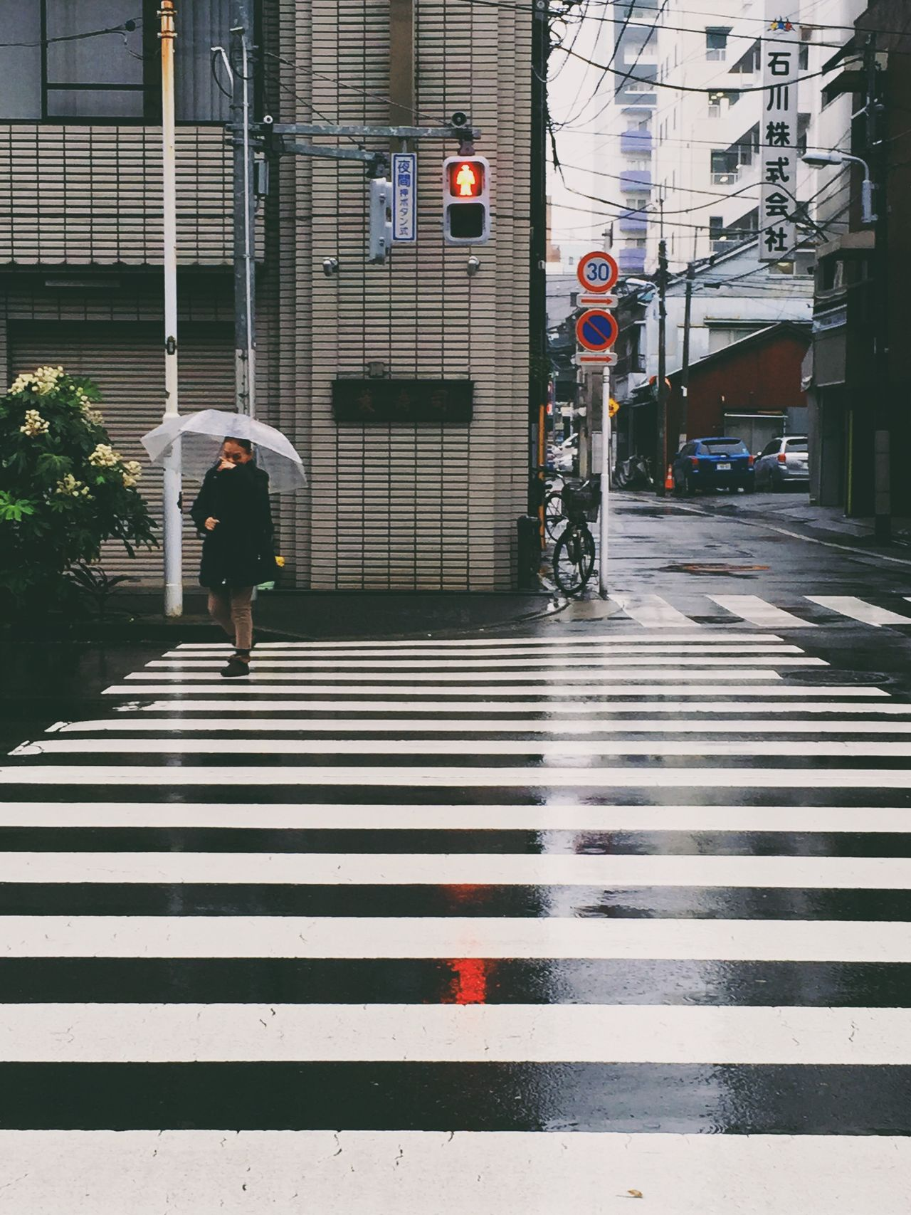 Tokyo Days RainyDays Traffic Signal The Street Photographer - 2015 EyeEm Awards
