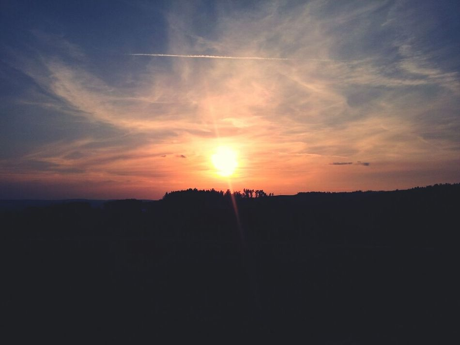 Sundown Sonnenuntergang Germany