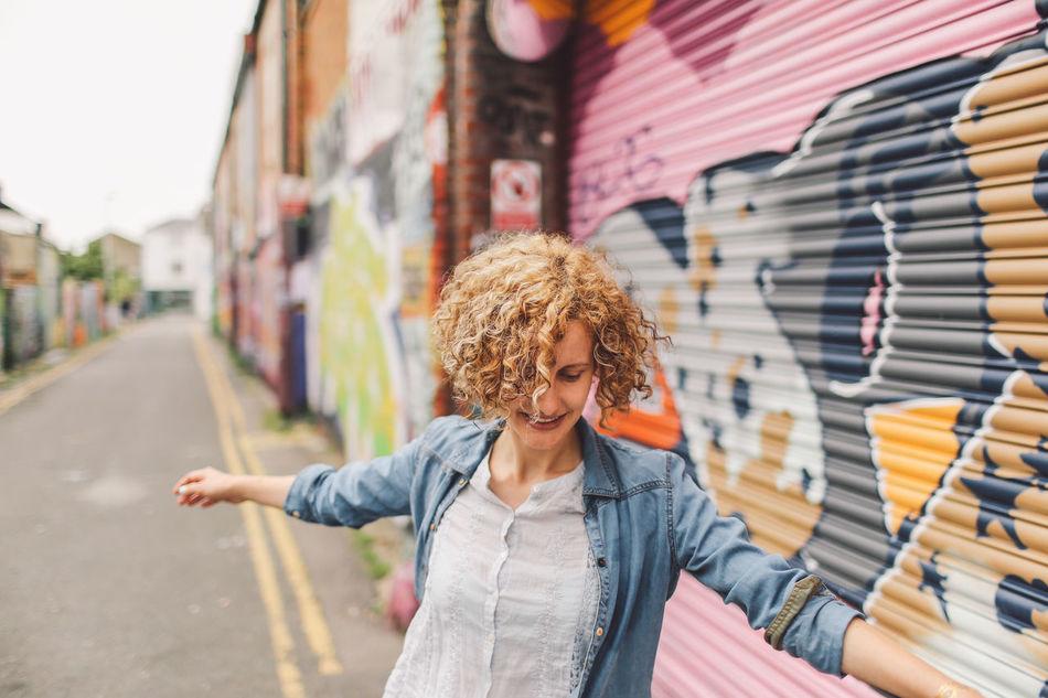 Beautiful stock photos of graffiti, 30-34 Years, Architecture, Art And Craft, Blond Hair
