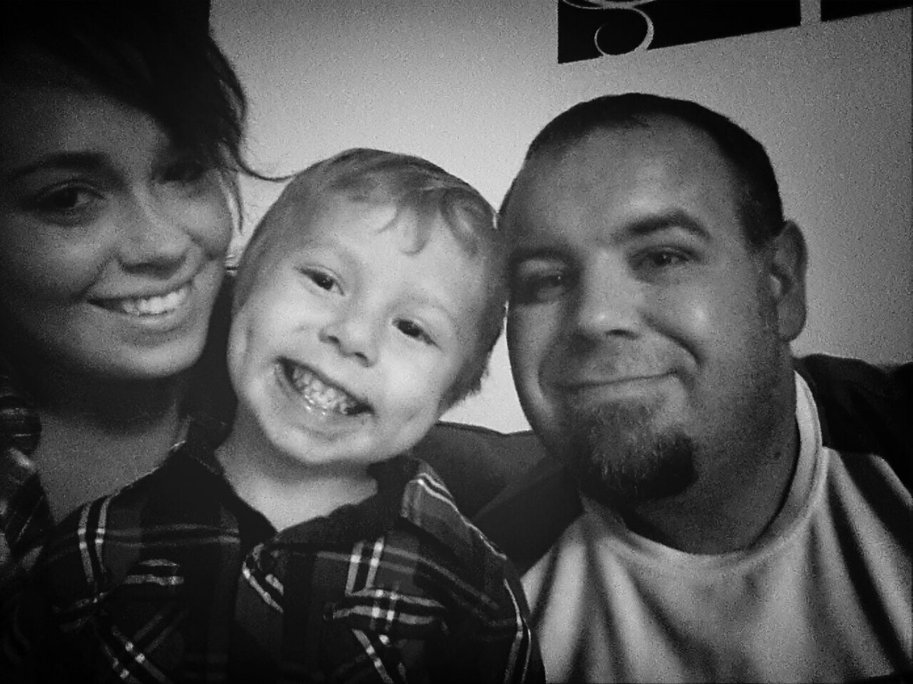 Hayden wanted a picture with us lol Quality Time Enjoying Life Having Fun Lovelovelove