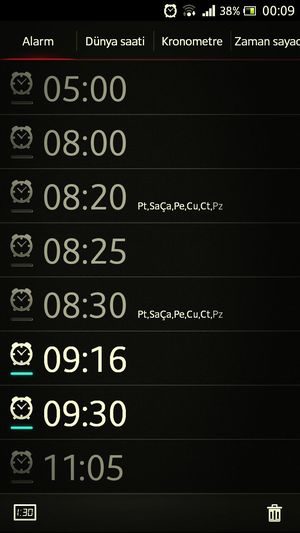 İşe bu saatte gidermi patron adam ya! WorkTime Alarm Wakeup