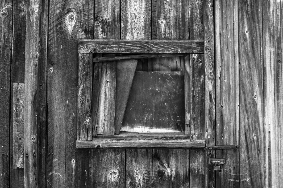 Barn Black & White Black And White Catskill Mountains Close-up Day Door No People Outdoors Rural Weathered Wood Wood - Material